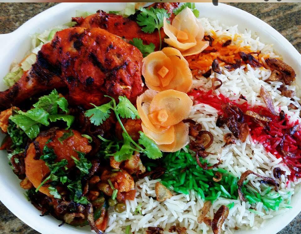 Chicken Tikka Veggie Biryani