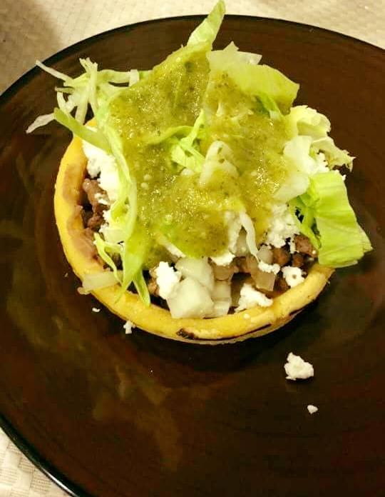 Falafel Mexican Sopes