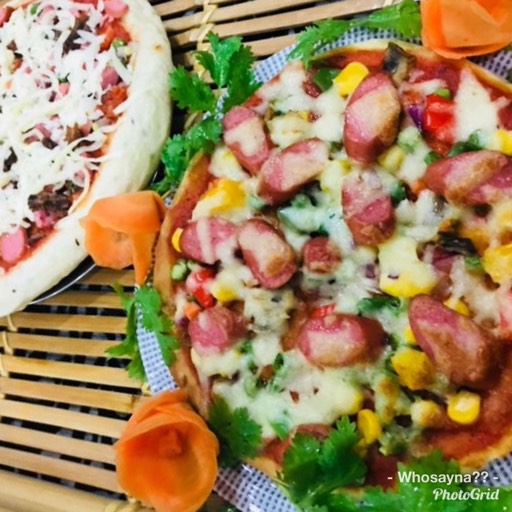 Whosayna's Meat Lover's Pizza