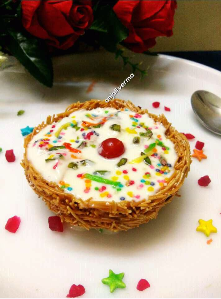 LITCHI AMRAKHAND IN VERMICELLI NEST