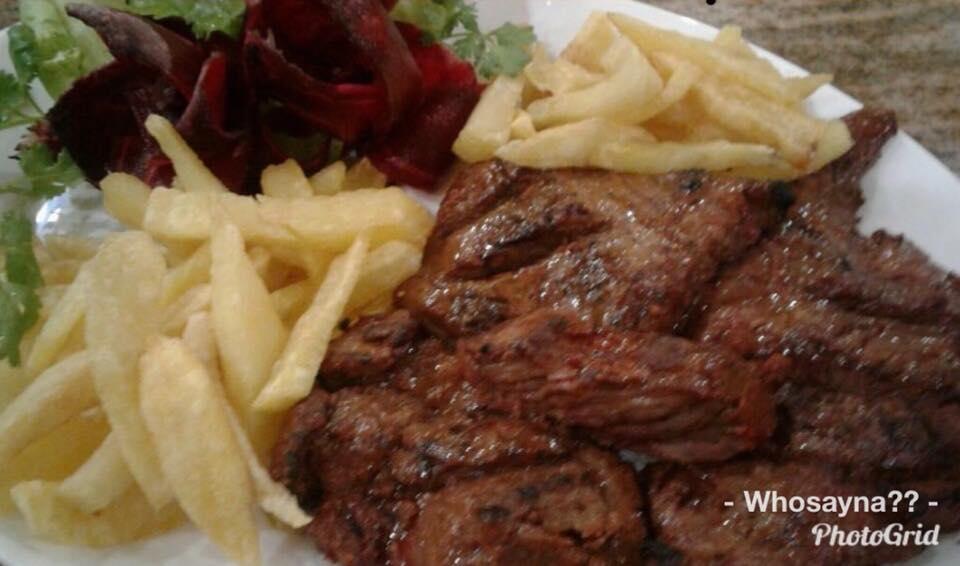 Steak Barbequed
