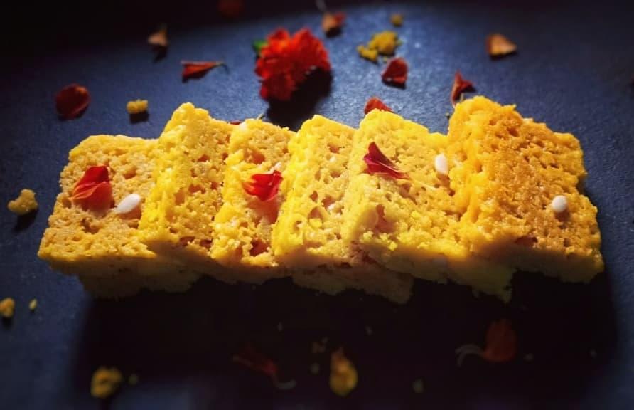 Diwali Faral : Mysore pak (A South Indian dessert)