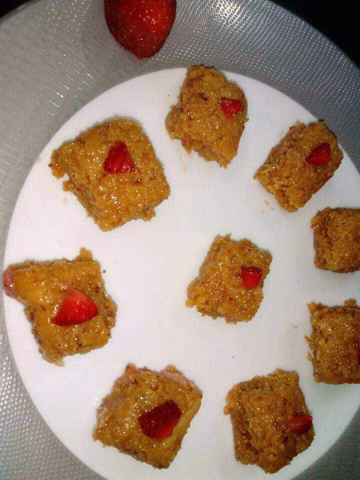 Strawberry Kalakand