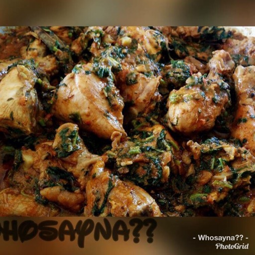 Whosayna's Chicken Saagwali