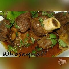 Whosayna's Mutton Khorma