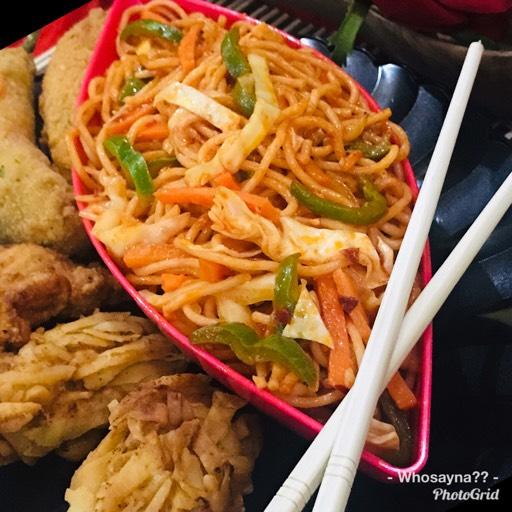 Whosayna's Schezuan Noodles