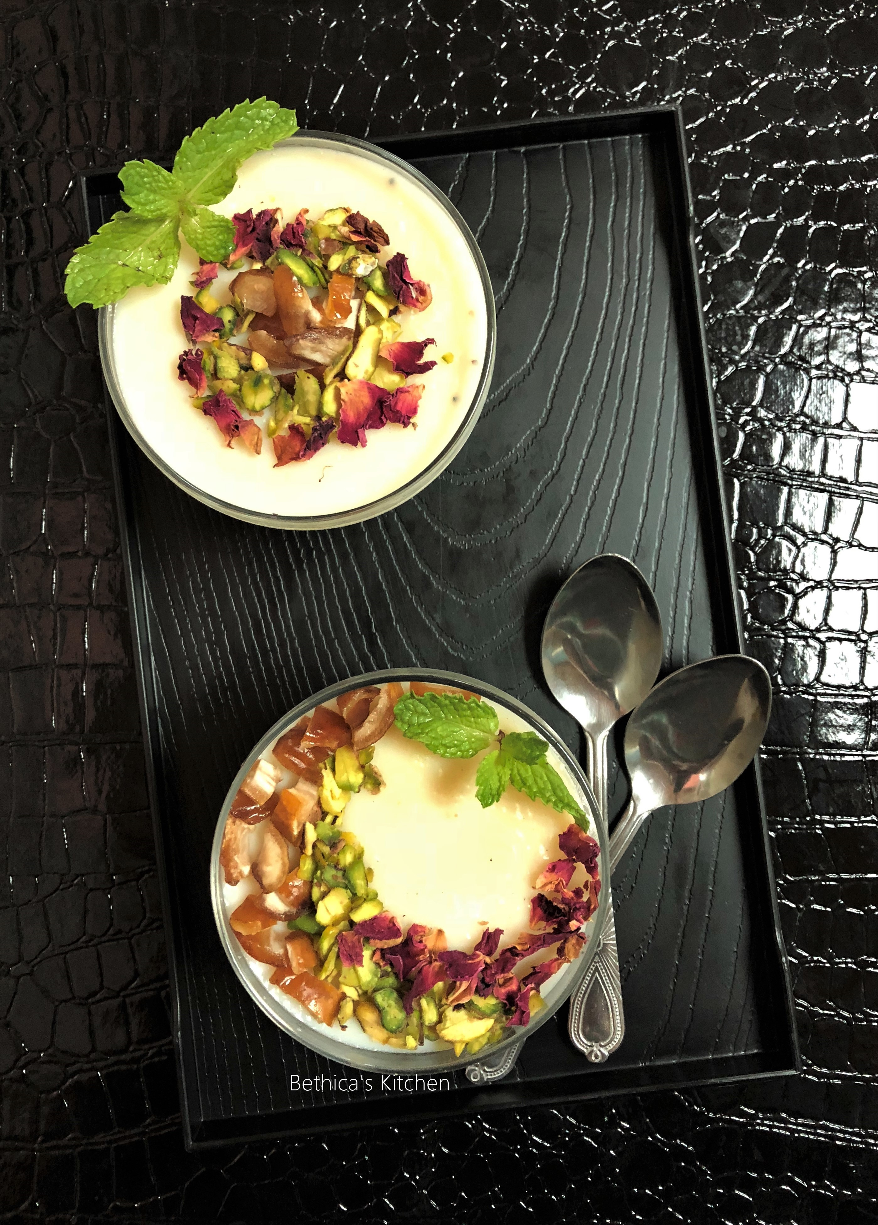Mahalabia (Middle Eastern Ramadan / Festive Dessert)