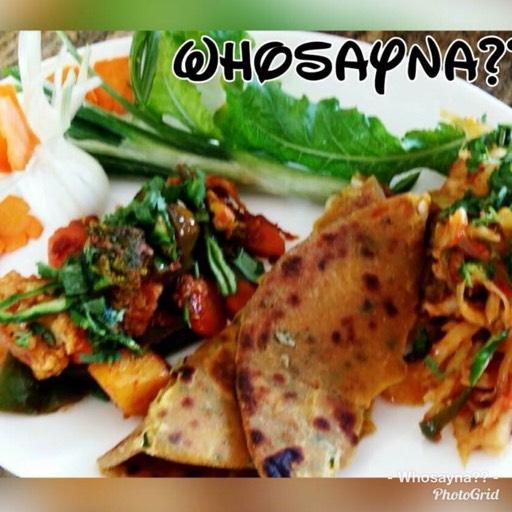 Whosayna's Veggies Sabzi