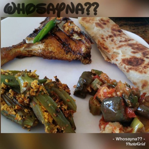 Whosayna's Chau ki Bhindi