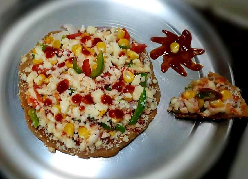 Tava Chapati Pizza