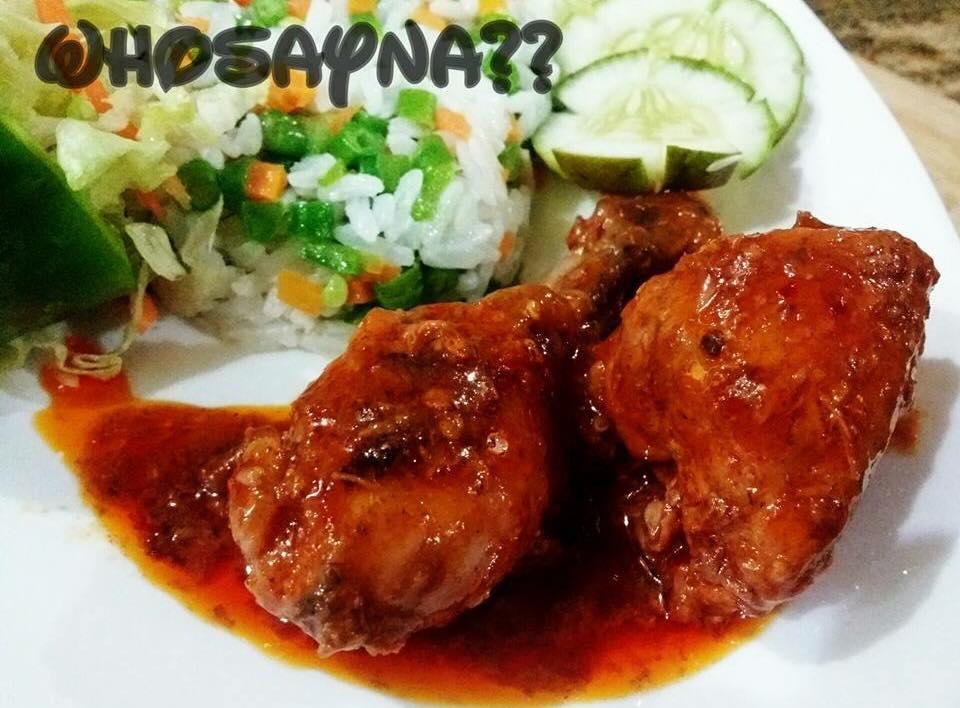 Sweet n Hot Pot Chicken