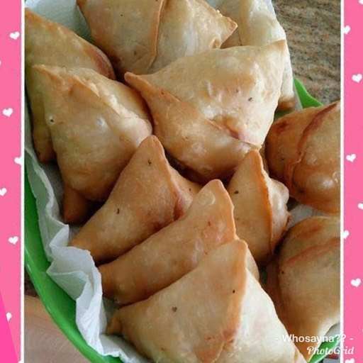 Whosayna's Arabian Samosas