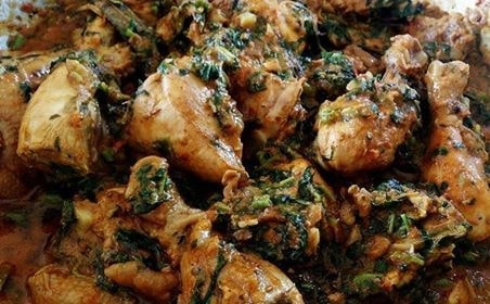 Palak Chicken/Saagwali Chicken