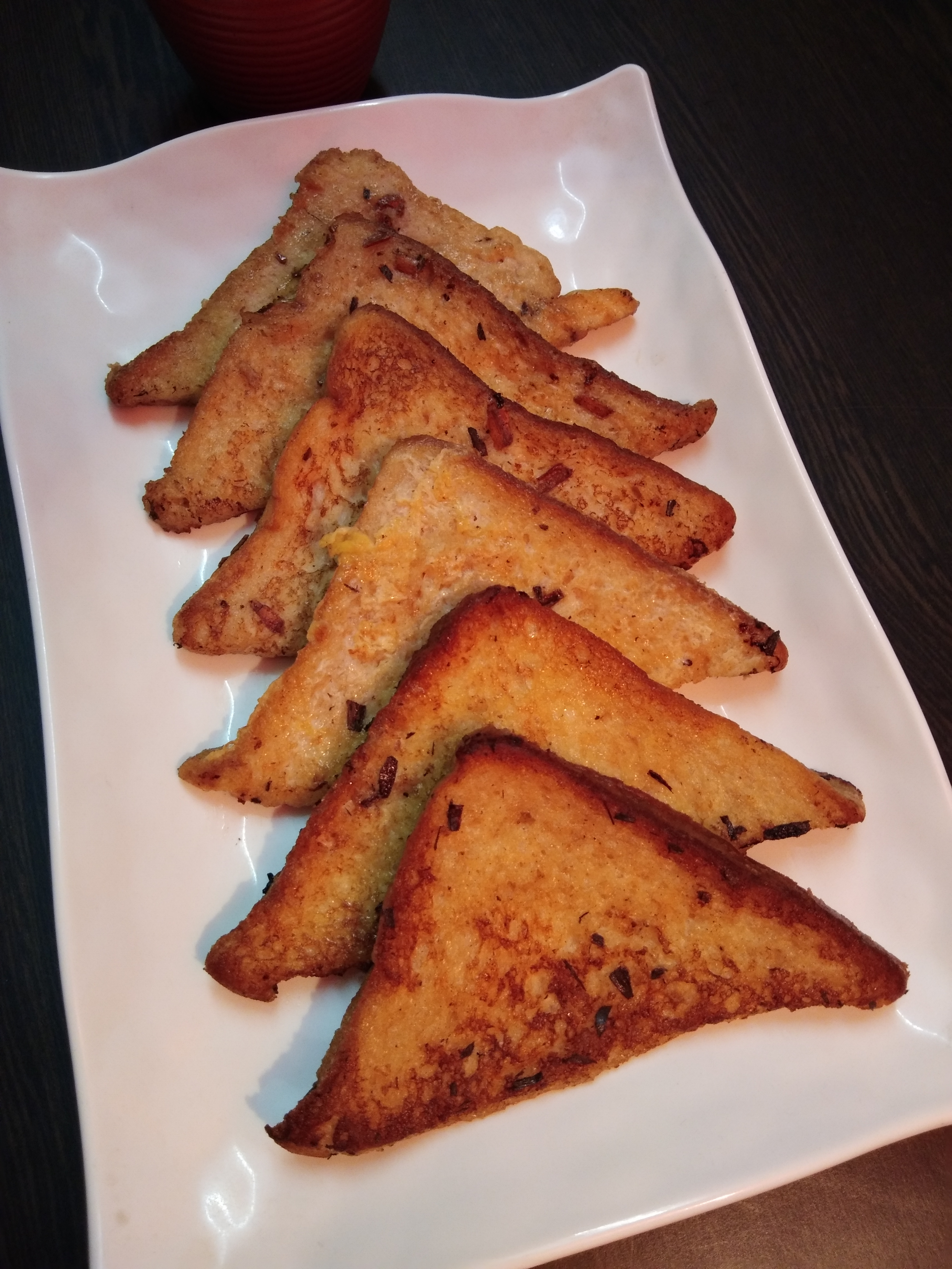 Classic French Toast - Rose Flavoured