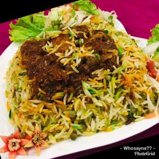 Whosayna's Mutton Biryani