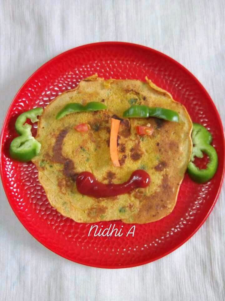 Vegetable Chila