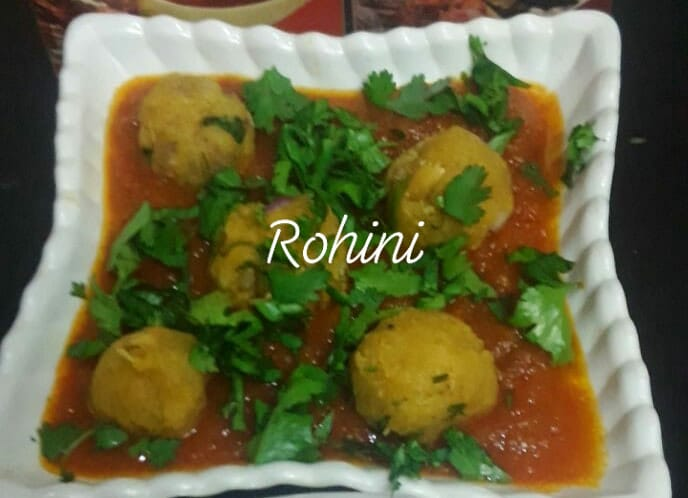 Alu Kofta Curry