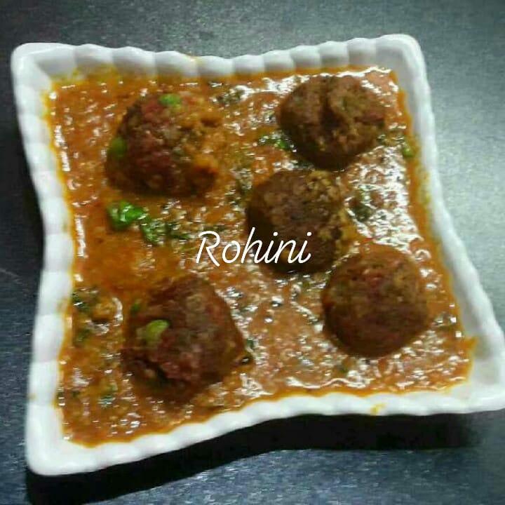 Whole Moong Vegetable Kofta Curry