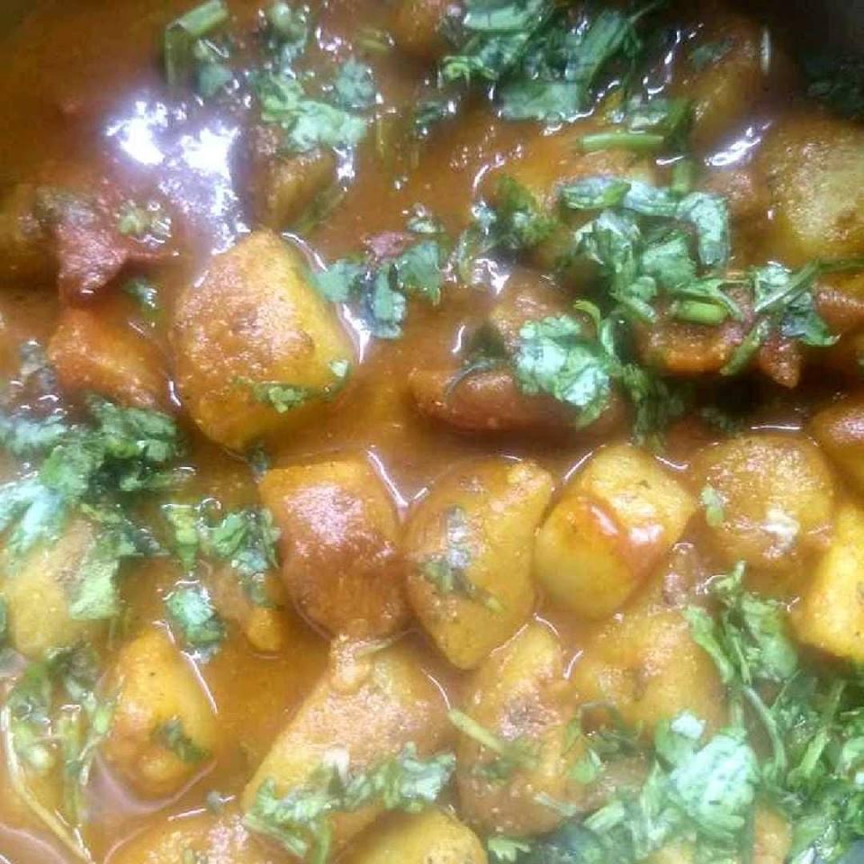 aloo tamatar ke thick gravy wali sabzi