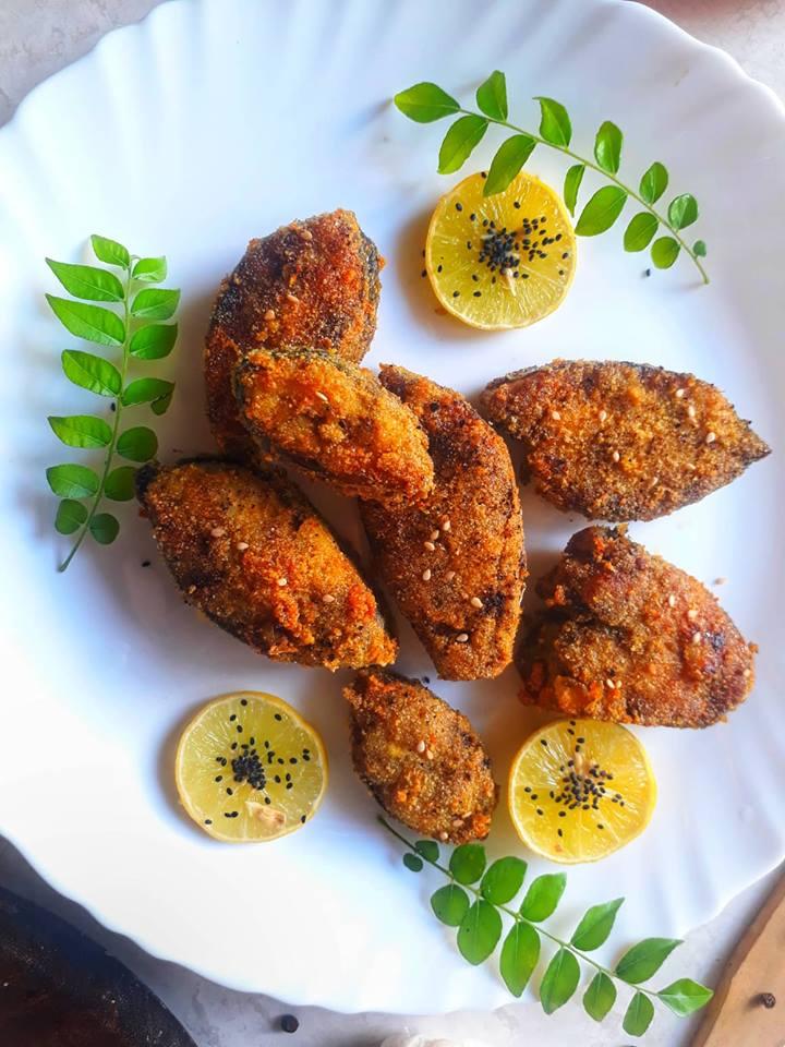 Crispy Kingfish Fry / Surmai fry