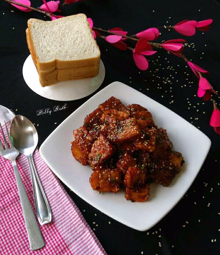 Honey Chilli Bread