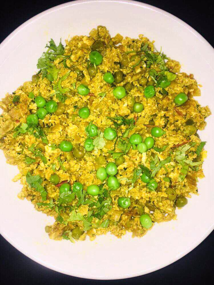 Egg-Peas Bhurji