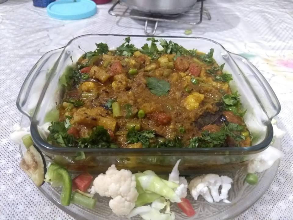 Delicious mix veg( hotel jaise)