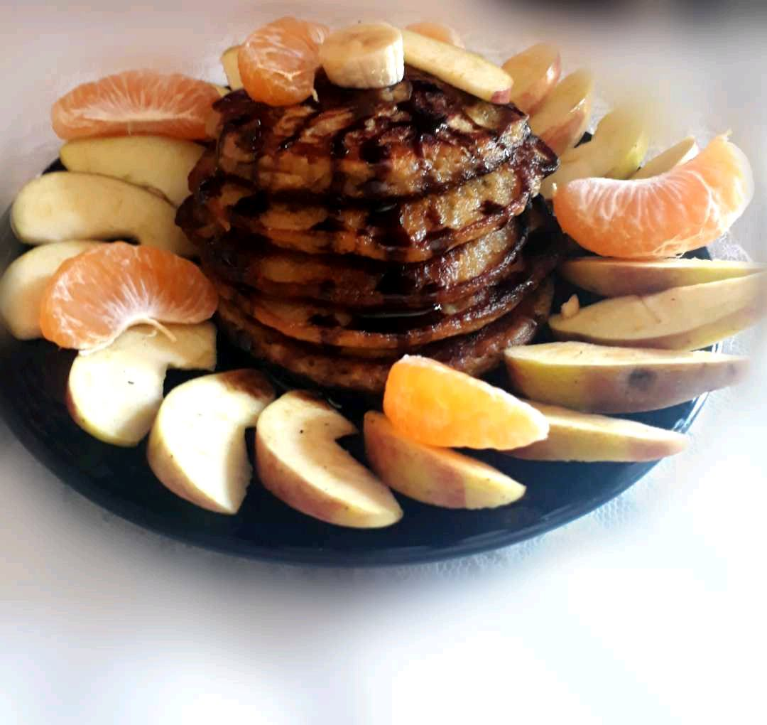 Wheat Fruity Pancakes
