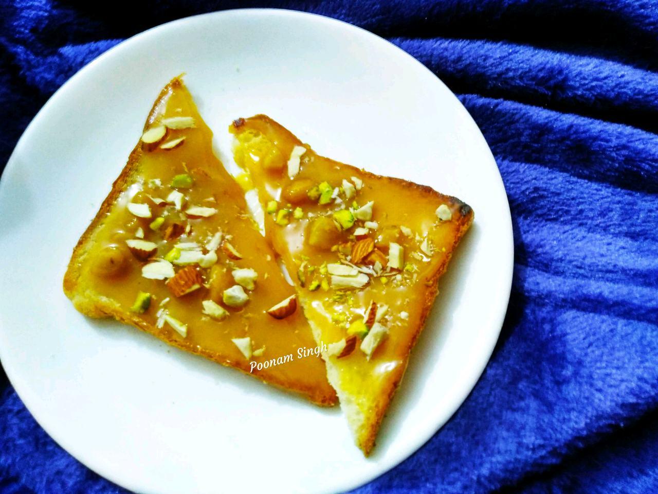Caremal Nut Open Sandwich