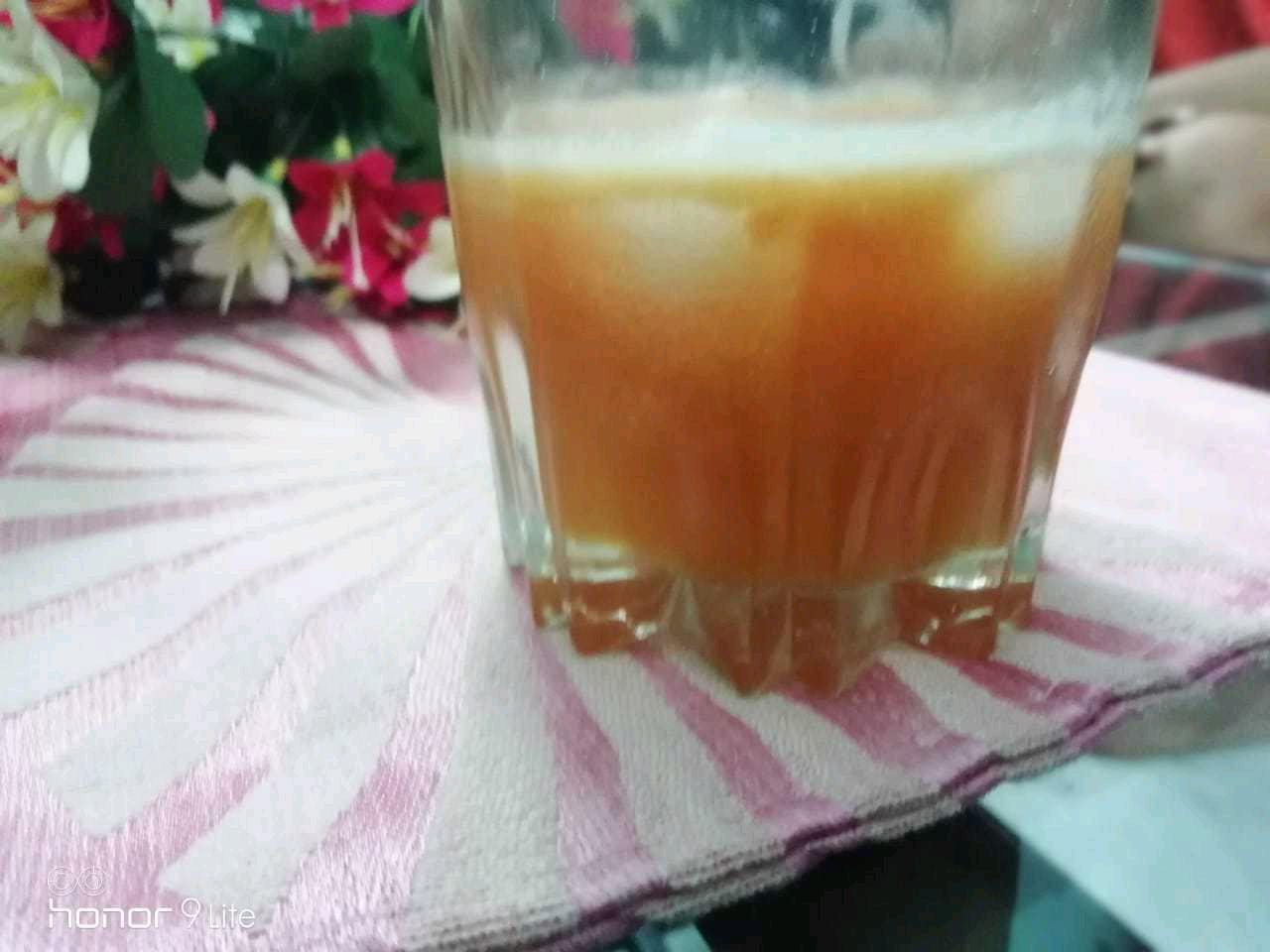 Pineapple-Papaya-orange Mocktail