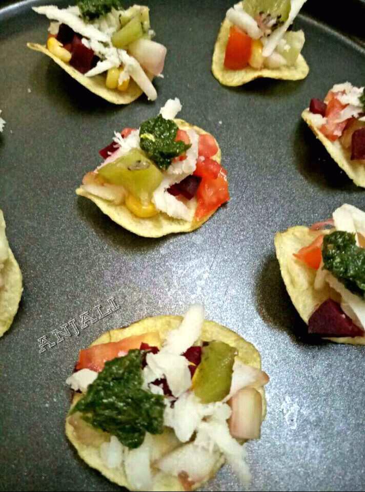 Crunchy Munchy Quick Chips Salsa Bites