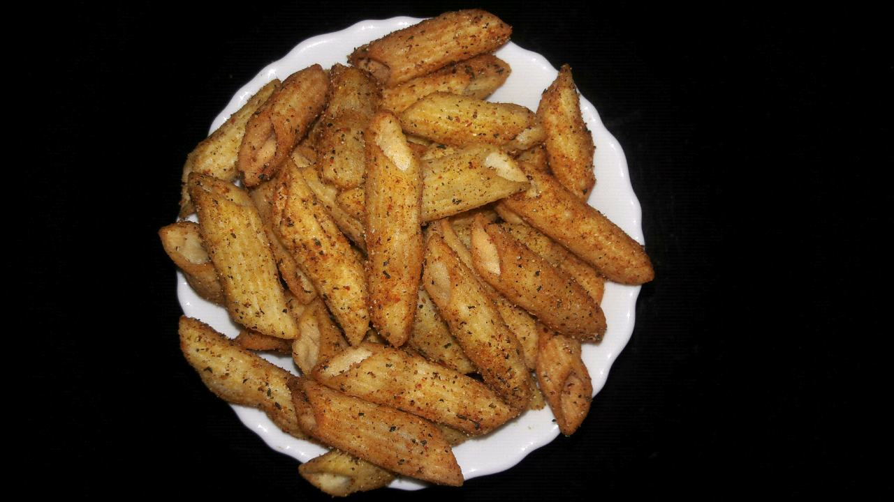 Fried Penne pasta