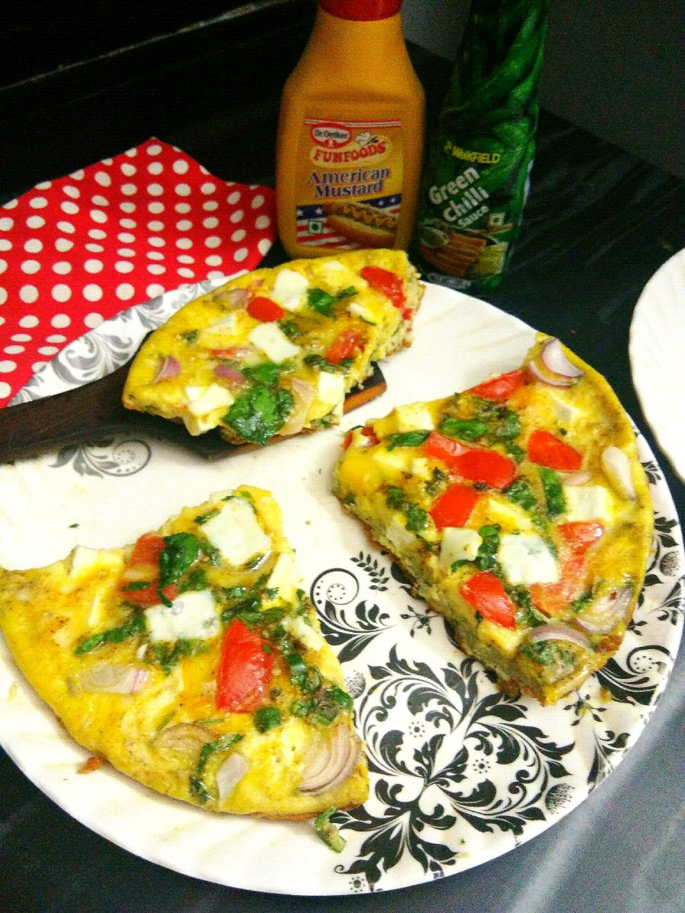 Vegetables  Frittata(Protein Packed)