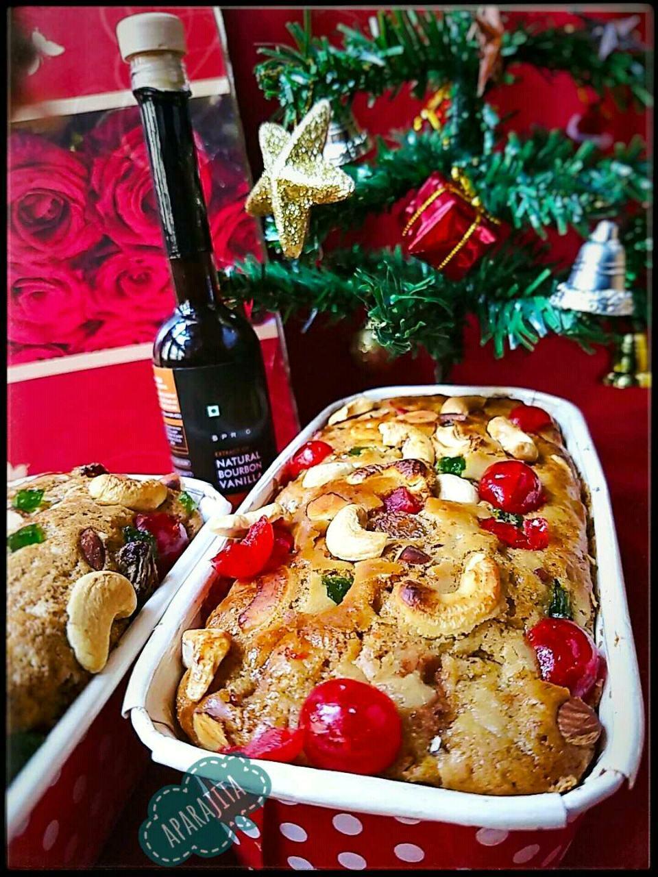 Rich Fruit Christmas Plum Cake