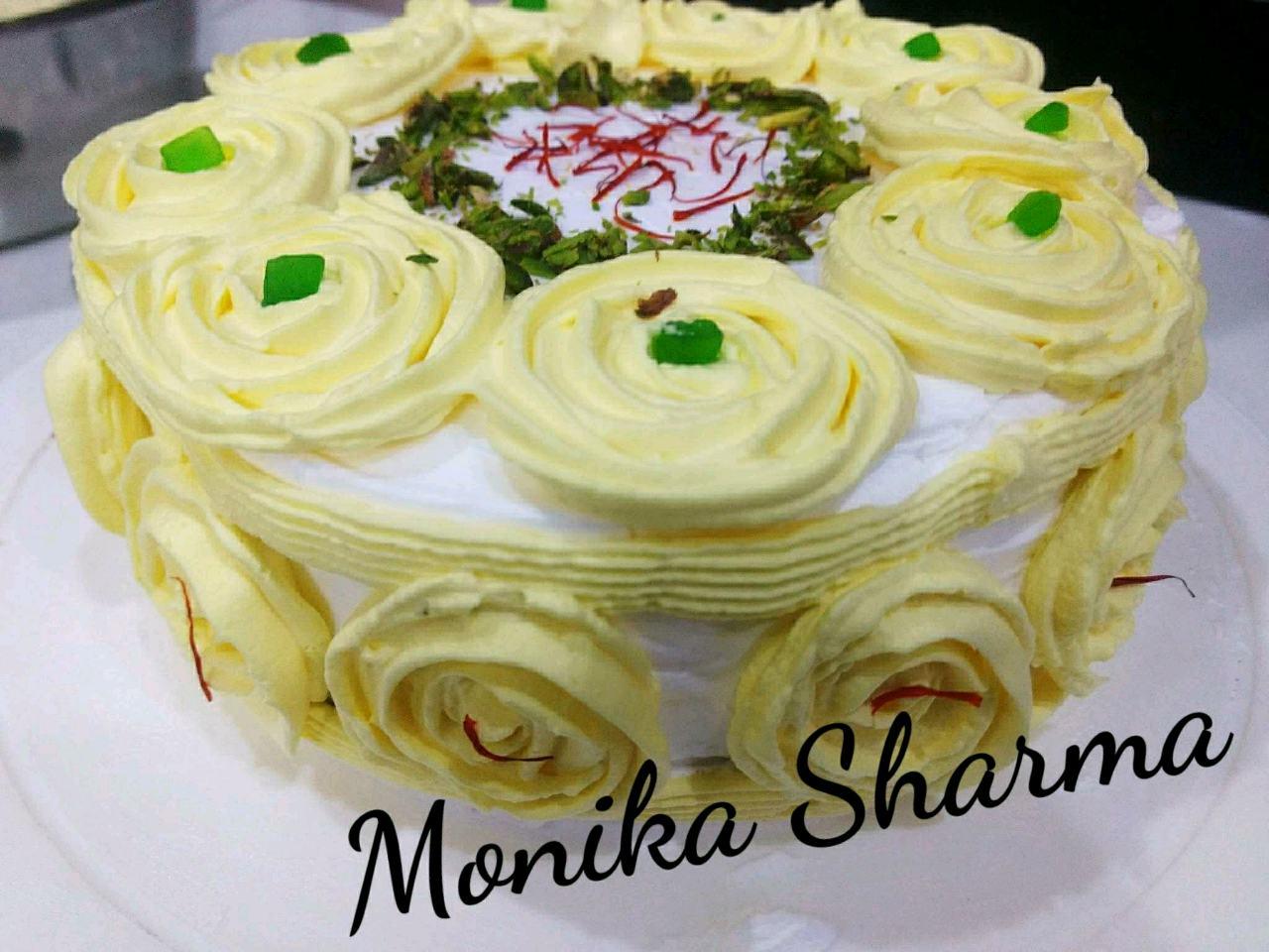 Kesar Pista Cake 🍰