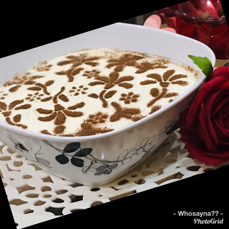 Whosayna's Biscuit Custard Pudding