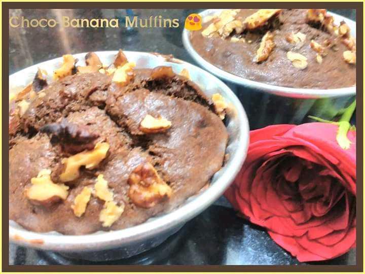 Choco-Banana Muffins