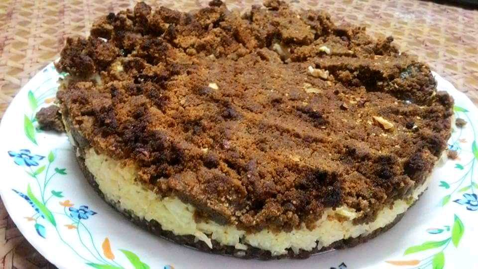 Panjeeri Biscuit Delight Cake