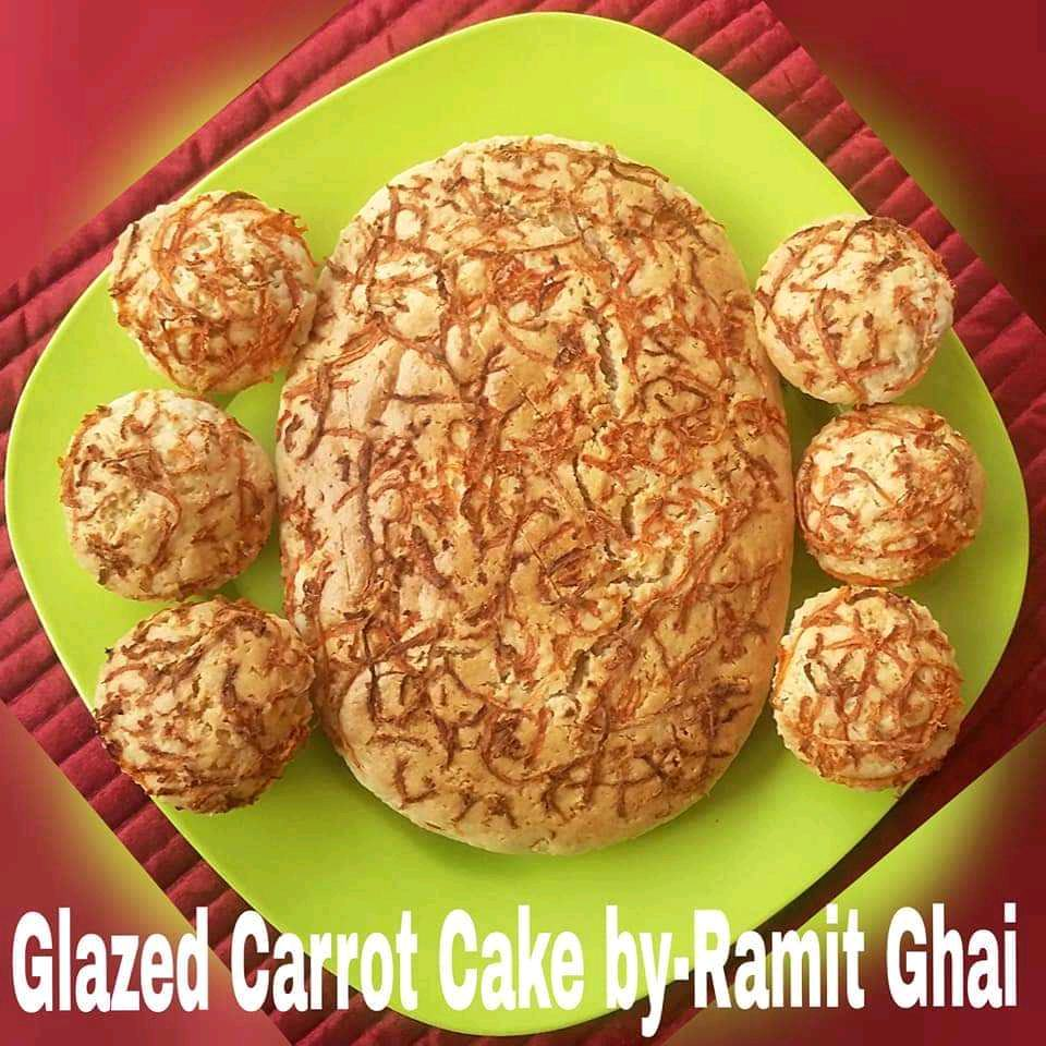 Glazed Carrot Cake/Muffin