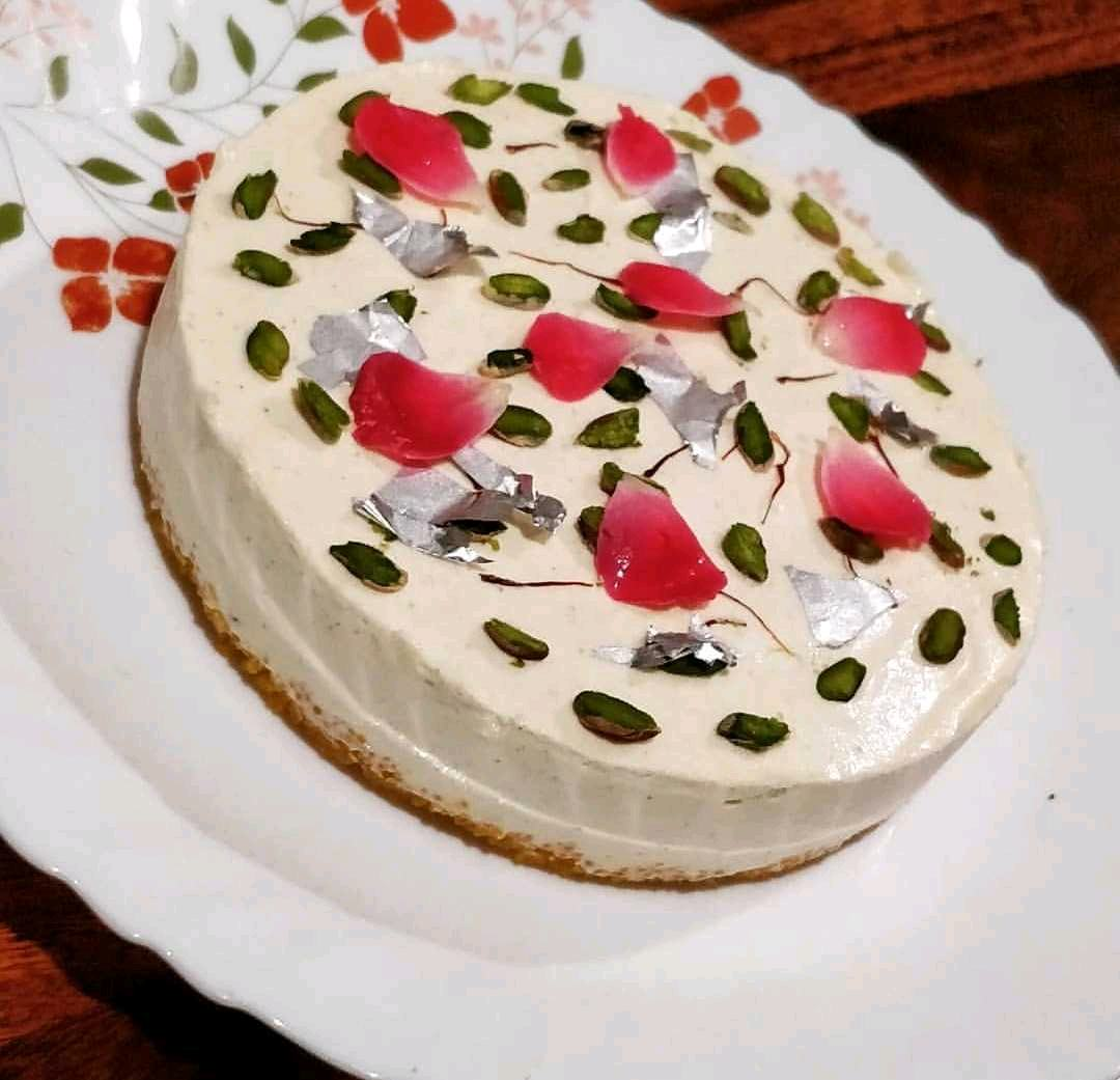 Thandai Cheesecake