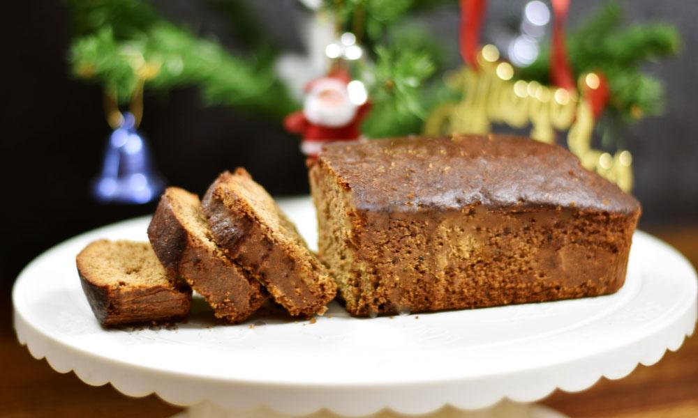 Non-Alcoholic Christmas Cake