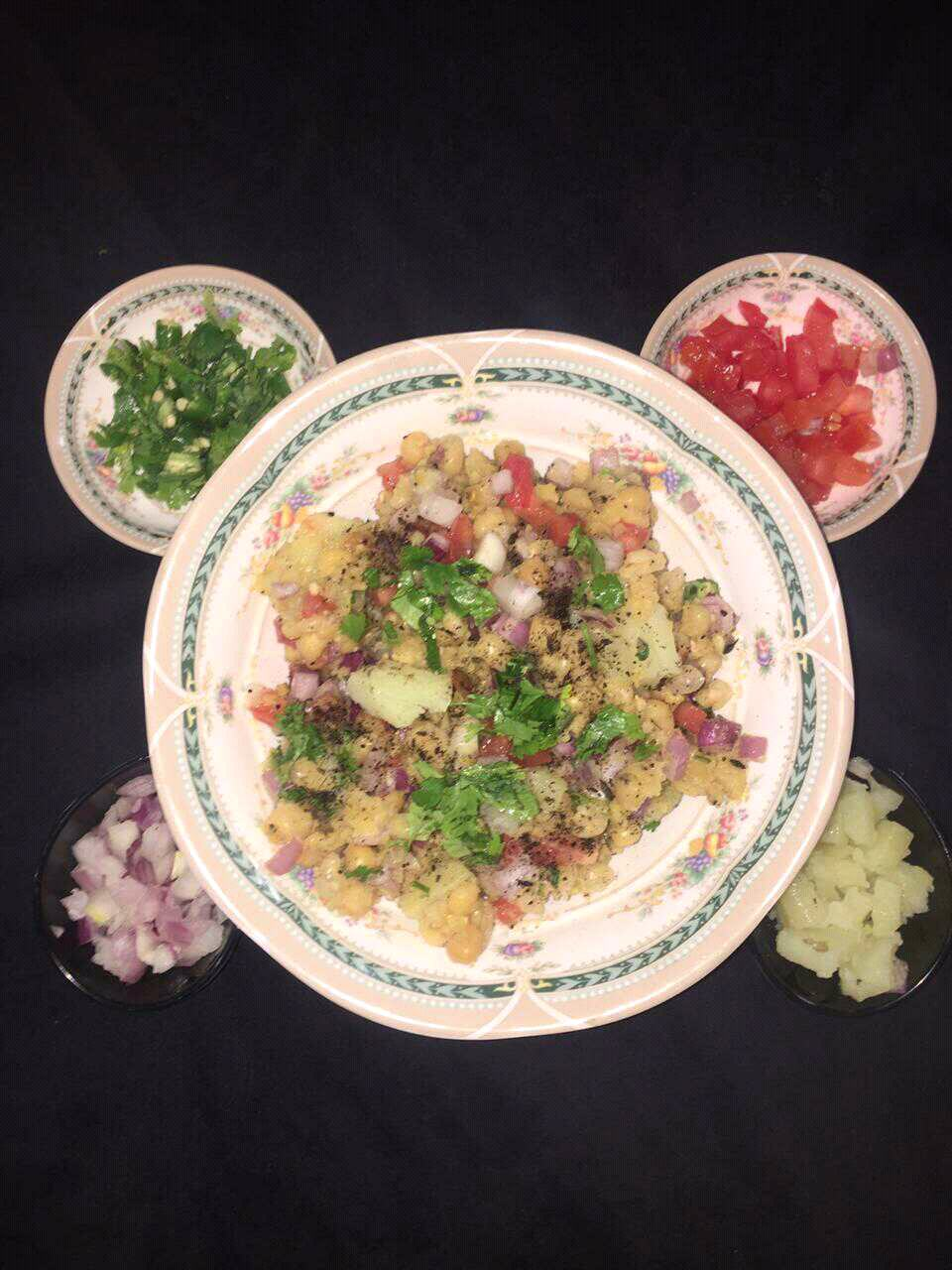 White Peas Chaat