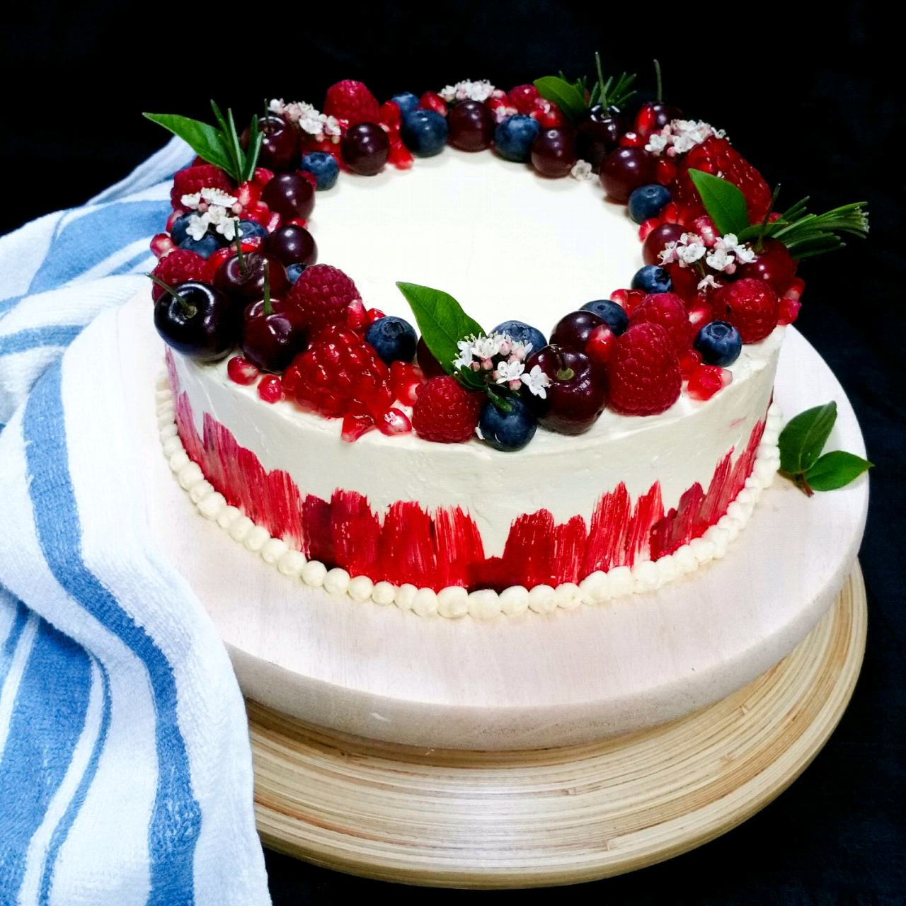 Winter Fruits Cake