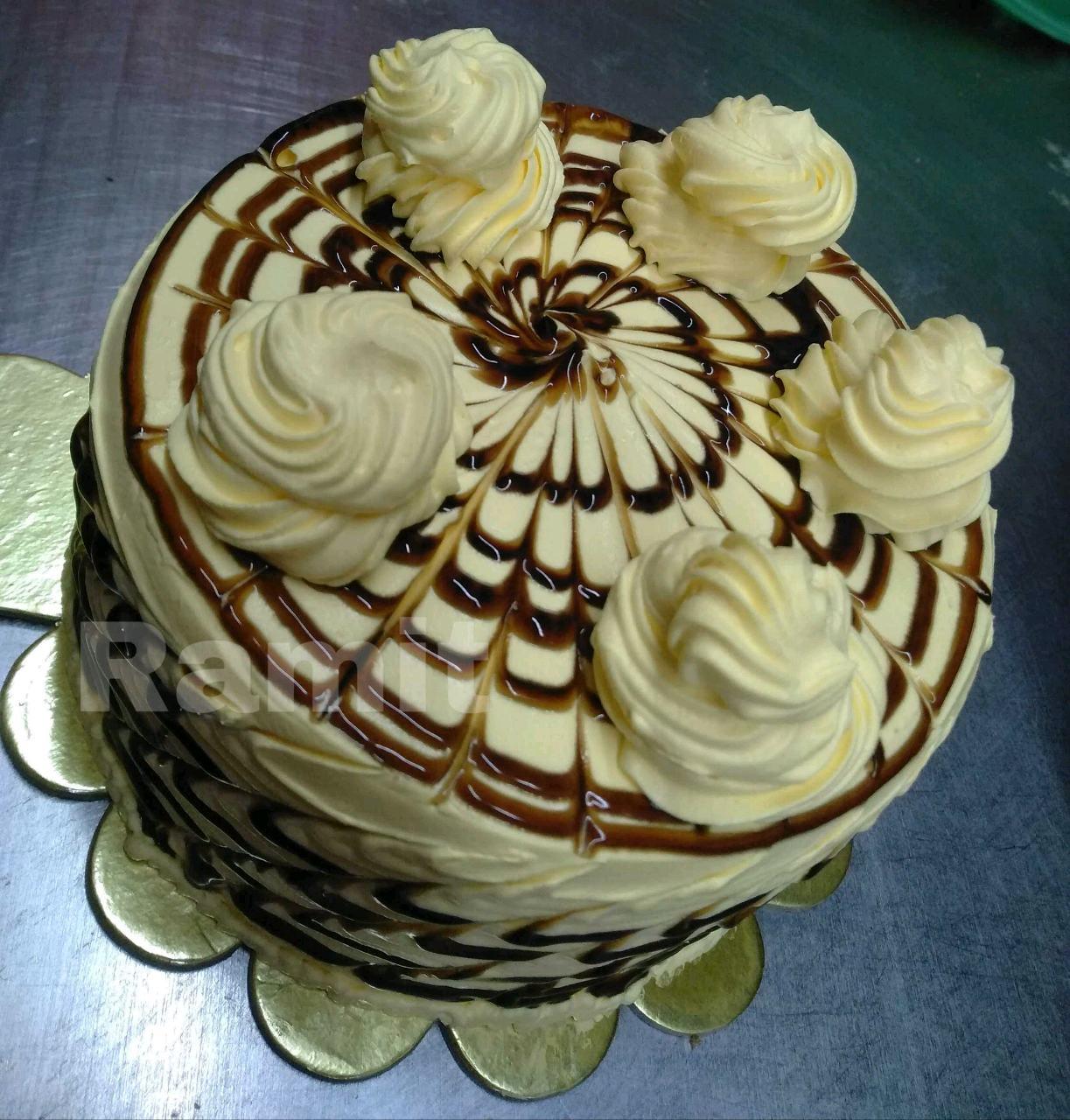Choco Peanut Butter Cake