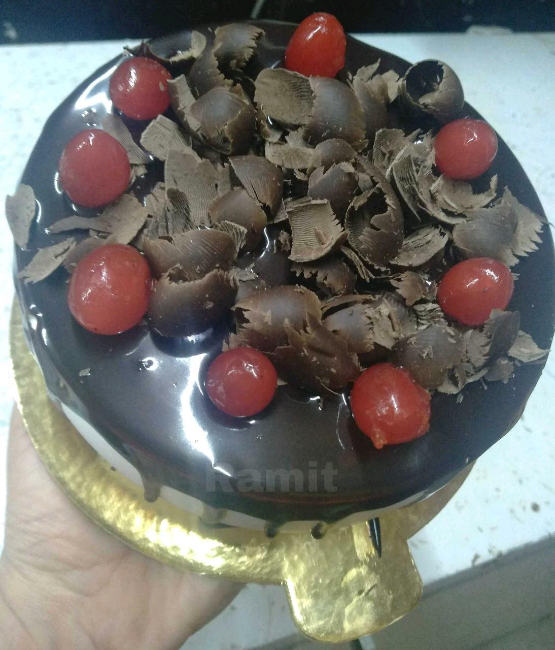 COFFEE GANACHE  CAKE