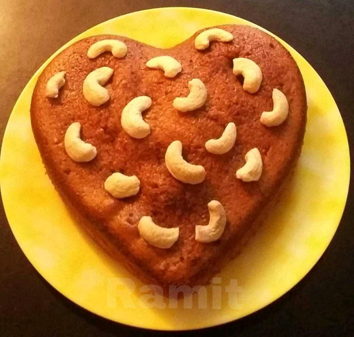 Kaju Mawa Cake