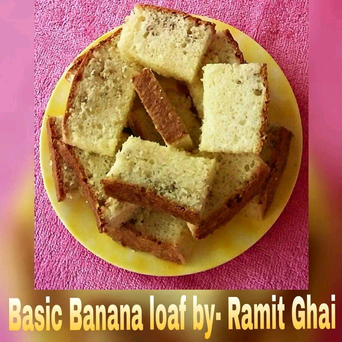 Basic Banana Loaf / Cake (Made With Honey)