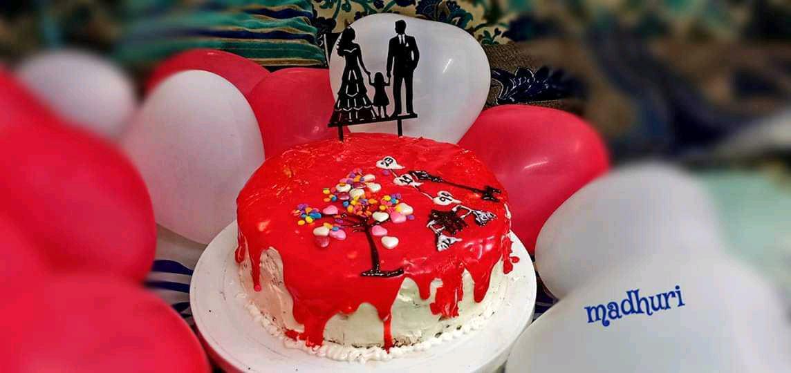 Eggless Red Valvet Cake