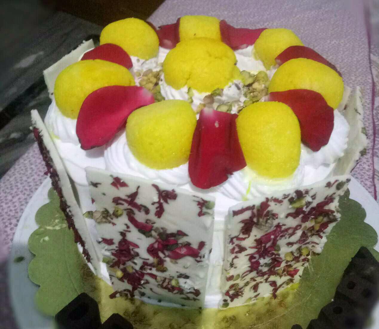 Rasmalai Sponge Cake