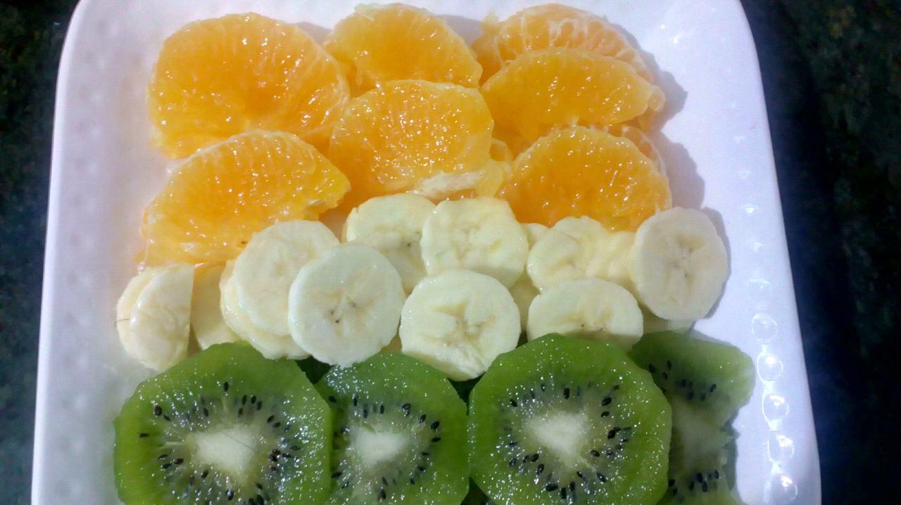Tricolour Fruit Tray